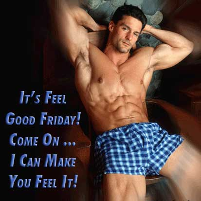 It's feel good Friday