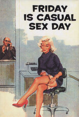 Friday is casual sex day